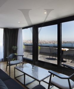 3+2 Bosphorus View Penthouse